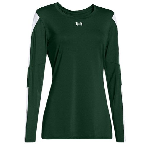Under Armour UA Block Party Jersey MD Forest Green