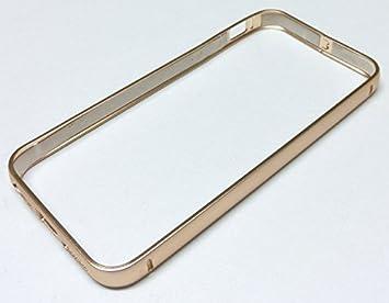 9078bcdb7a Amazon   iPhone SE/5s/5 用 アルミ製バンパー(ゴールド)   ケース ...