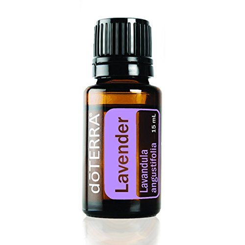 doTERRA Lavender Essential Oil - Promotes Calm, Relaxation, Peaceful Sleep, Tension Relief, and Soothing of Skin Irritation; For Diffusion, Internal, or Topical Use - 15 ml from doTERRA