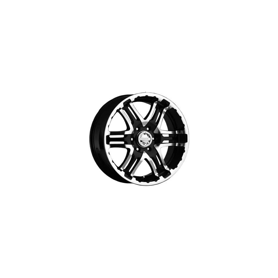 Gear Alloy Double Pump 20x9 Black Wheel / Rim 6x5.5 with a 10mm Offset and a 107.95 Hub Bore. Partnumber 713MB 2098410