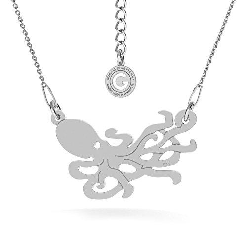Collana 925 Silver In New ¤ Giorre Con Sterling Piovra Argento wRUpzEq0