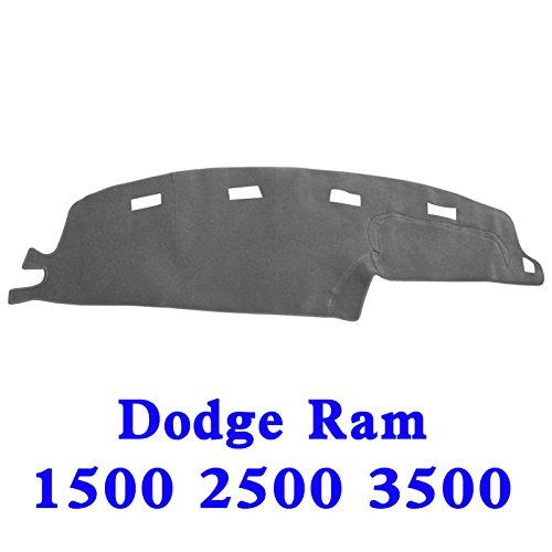 94 Dash Board Cover (New Original Car Dashboard Carpet Dash board Cover Mat 94-97 DODGE RAM 1500 2500 3500 GREY)