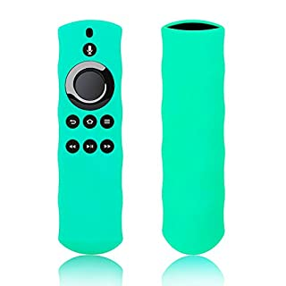 Silicon Case for Alexa Voice Remote for Fire TV and Fire TV Stick by 1XD GEAR (Seafoam)