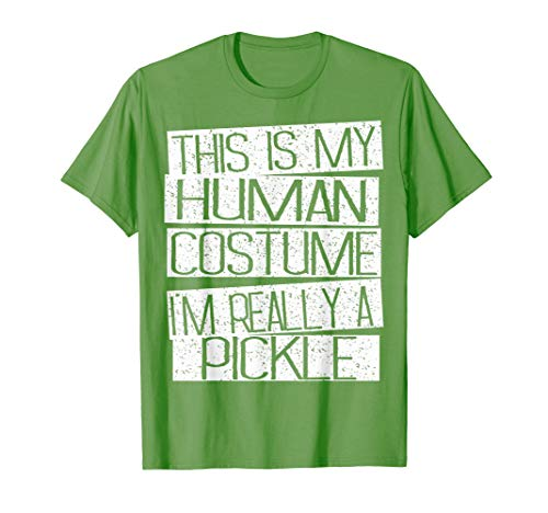 Pickle Halloween Costume Kids Shirt - Funny Halloween Gift -
