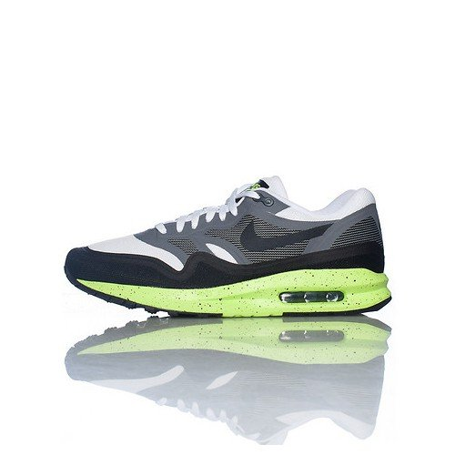 Nike-Scarpe da ginnastica da uomo, Nike Air Max Lunar 1, colore: grigio