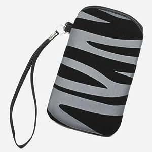 Funda de terciopelo negro-Funda de piel para Nokia Lumia 520, diseño de X