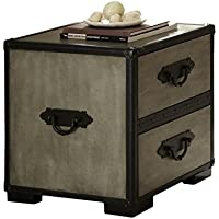 Steve Silver Company Rowan End Table, 20 x 22 x 23