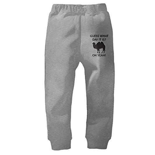 Crali Guess What Day It Is Hump Day Unisex Baby Sweatpants Jogger Athletic Pants