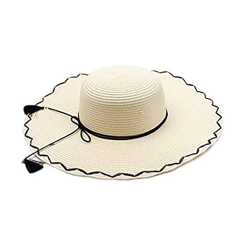 490c980144f8 Image Unavailable. Image not available for. Color: LoLa Ling Seaside Sun  Visor Hat ...