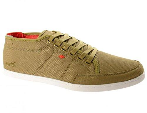 Boxfresh Sparko 4 Bronze Rot Weib Neu Herren Sneaker Schuhe Stiefel