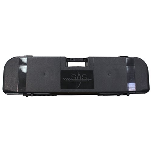 Southland Archery Supply SAS Travel Approved Hard Bow Case for Takedown Bows and Arrows - Made in USA (Bow Case)