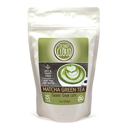 Coconut Cloud Matcha Green Tea Coconut Cream Latte, Proper Matcha Green Tea powder, Instant, VEGAN - 7 oz. pouch