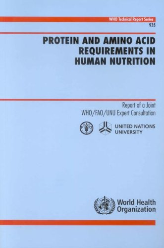 Protein and Amino Acid Requirements in Human Nutrition: Report of a Joint WHO/FAO/UNU Expert Consultation (WHO Technical