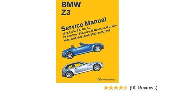 2000 Bmw Z3 Service Manual