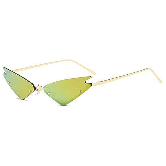 Yefree Mujer Gafas de sol pequeñas Ojo de gato Gafas de sol ...