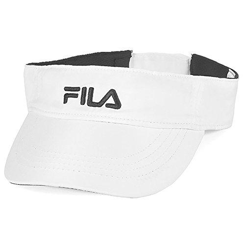 Fila Performance Runner Visor-One Size-White ()
