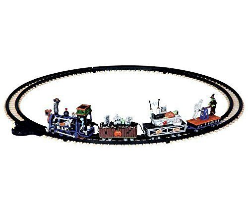 Lemax Signature Collection Spooky Town Train Set ()