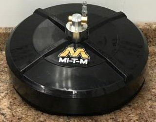 """Mi-T-M Whirl-A-Way Surface Cleaner 14"""" Concrete Cleaner AW-7020-8009"""