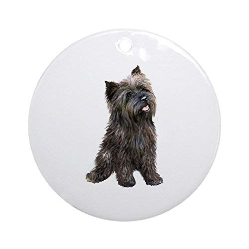 - Louis Brindle Cairn (#14) Ceramic Ornament 3 inch Round Holiday Christmas Ornament
