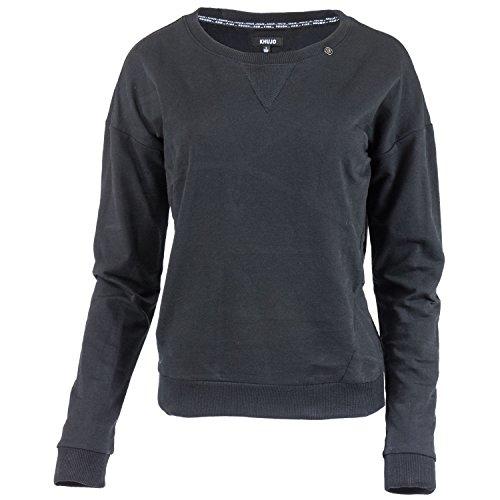 Khujo, Damen-Sweatshirt, Sonne (L, Black)