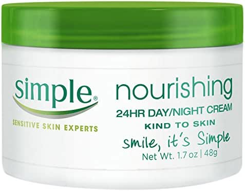 Facial Moisturizer: Simple Nourishing 24HR Day Night Cream