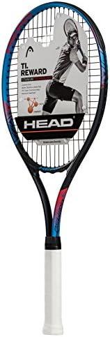 HEAD Ti. Reward Tennis Racket - Pre-Strung Head Light Balance 27 Inch Racquet