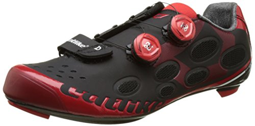 Catlike Whisper Route zapatos unisex Negro (Black / Red)