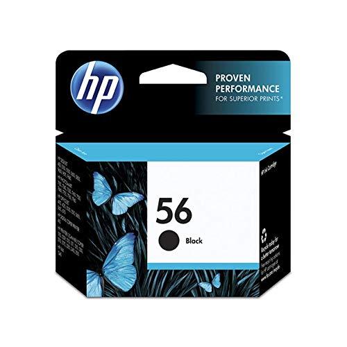 HP 56 Black Original Ink Cartridge (C6656AN)