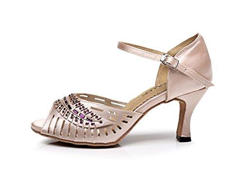 5cm Sandales 5 Femmes Eu40 Latine Danse Talons Jazz Chacha Modern Talon Our41 Samba Jshoe Chaussures De Tango Pour fr6 Salsa Rose7 Wq1xaPA