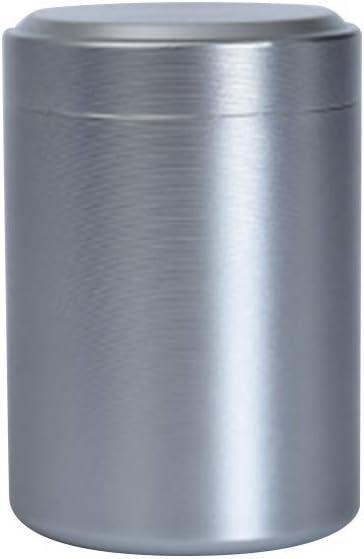 a Prueba de olores contenedor Organizador de Especias Mini tarros de Aluminio para Guardar Hierbas huangThroStore