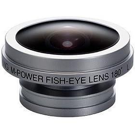 DIGITAL KING コンパクトデジタルカメラ用コンバージョンレンズ 180° 魚眼レンズ T-03S