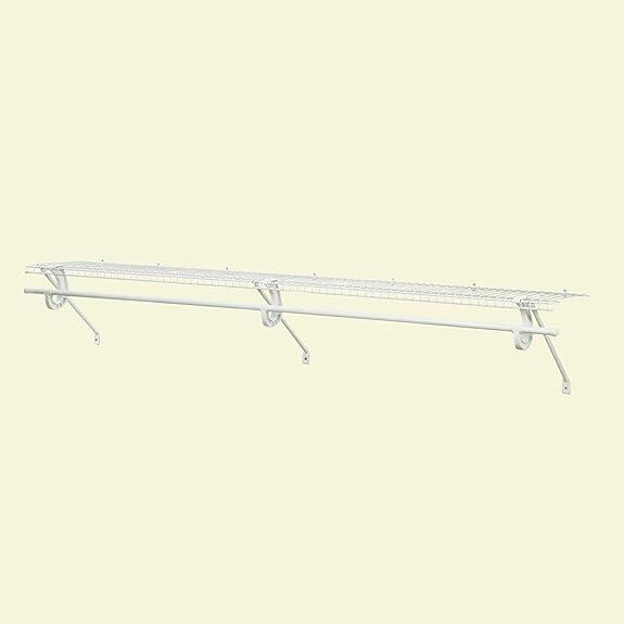 amazon com closetmaid superslide 1 83m 6 ventilated wire shelf rh amazon com ClosetMaid SuperSlide 20 Inch Deep 12 Foot Closet Organization Systems
