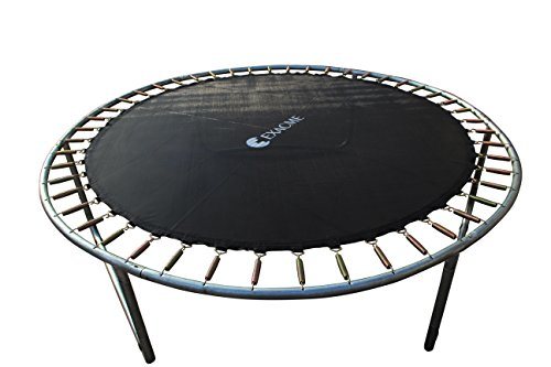 Exacme 6180-JM12 Weatherproof Jumping Mat for 12' Round Trampoline Replacement Spring V-ring