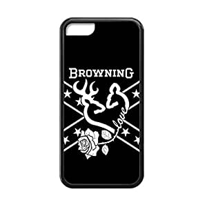 Diy iPhone 6 plus Browning Deer Camo forIphone 6 plus Cover 038687 Rubber Sides Shockproof Protection with Laser Technology Printing Matte Result