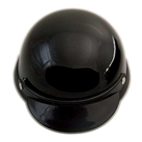 Helmet for Dogs, Cats and All Small Pets, Pet Accessory - Black-medium for dogs 13 - 20 lbs.