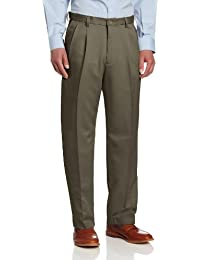 Men's Cool 18 Hidden Expandable-Waist Pleat-Front Pant