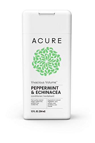 ACURE Vivacious Volume Peppermint Conditioner, 12 Fl. Oz. (Packaging May Vary)