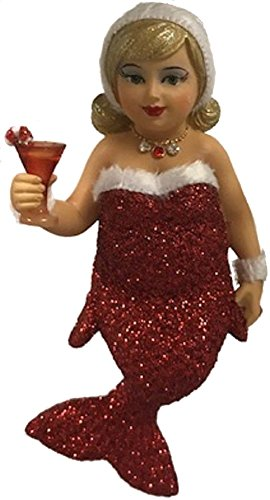 December Diamonds Fat - December Diamonds Miss Jolly Mermaid Ornament