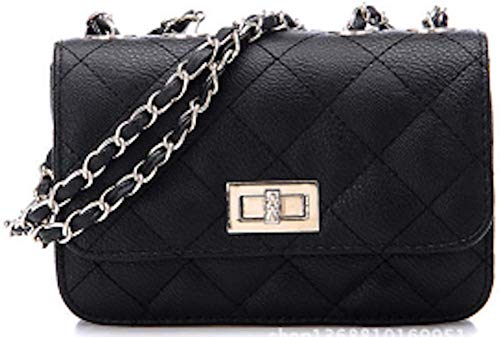 AIK Small Evening Bags for Women Crossbody Bag Chain Shoulder Clutch Purse Formal Bag (Black3)