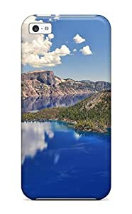 Tpu Case Cover For iPhone 6 4.7 Strong Protect Case - Crater Lake Oregon Design