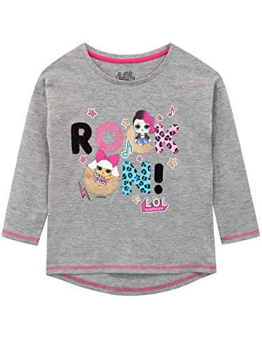 LOL Surprise Camiseta de Manga Larga para niñas Dolls