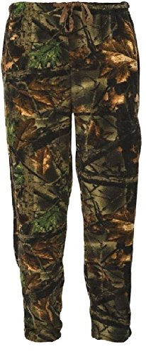 Trail Crest Men's Camo Lounge Fleece Pajama Pants 2935-95 (XL)