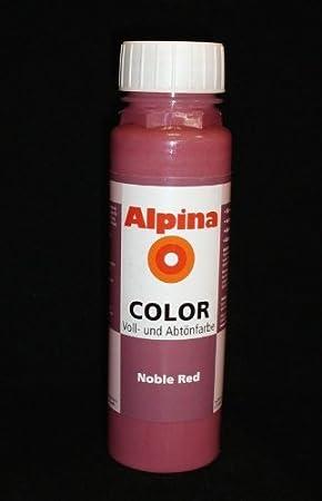 Alpina Color – Tinte para pintura, pared color, Noble Red ...