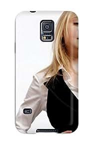 Hot Design Premium TCwmEmB6273kaLza Tpu Case Cover Galaxy S5 Protection Case(dakota Fanning)