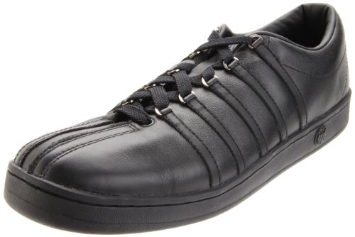 Reminisce Santas (K-Swiss Men's The Classic Sneaker,Black/Black,11 M US)