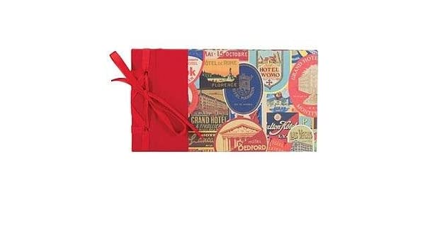 4x6 Travel Stickers Ribbon-Bound BRAGBOOK by Lineco