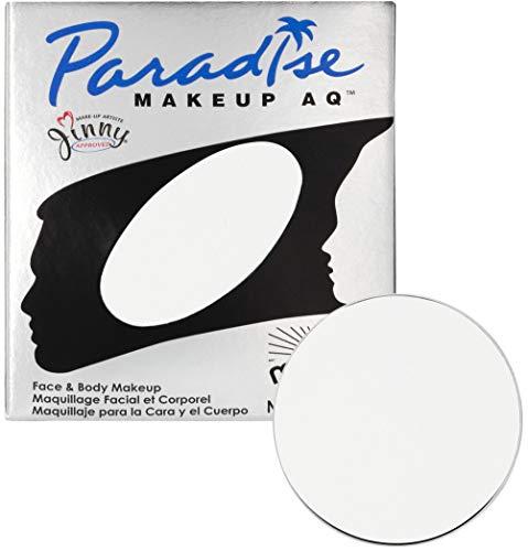 Mehron Makeup Paradise Makeup AQ Refill (.25 oz) (White) ()