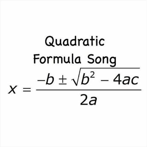 quadratic formula song by kathy troxel on amazon music amazon com