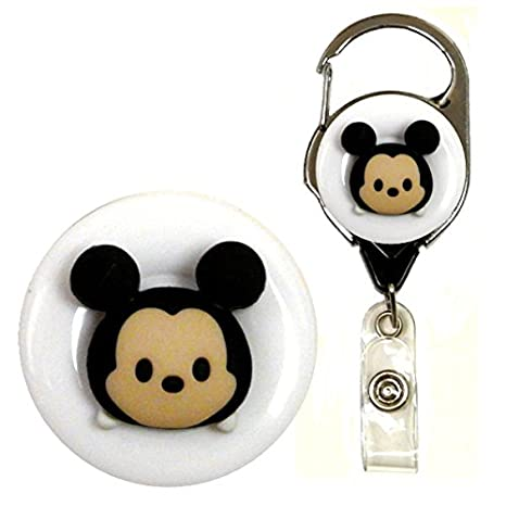 Disney Tsum Tsum Decorative ID Badge Holders (Mickey)