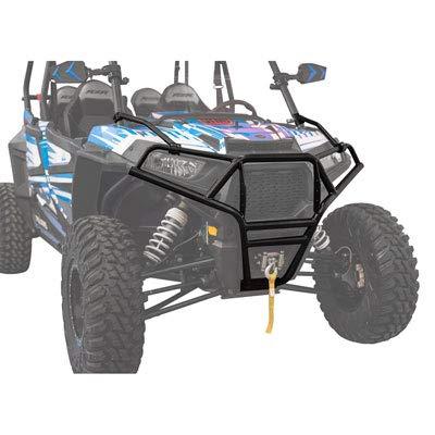 Tusk EXO Front Bumper- POLARIS RZR XP 4 1000 2014-2018 - Includes free mud scraper ()